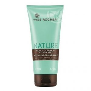 Yves Rocher Cedar Wood and Lime Shower Gel